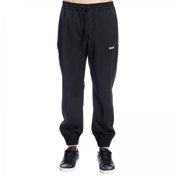 Mini Pantalone Con Jogging Stile Logo Msgm rshtQd