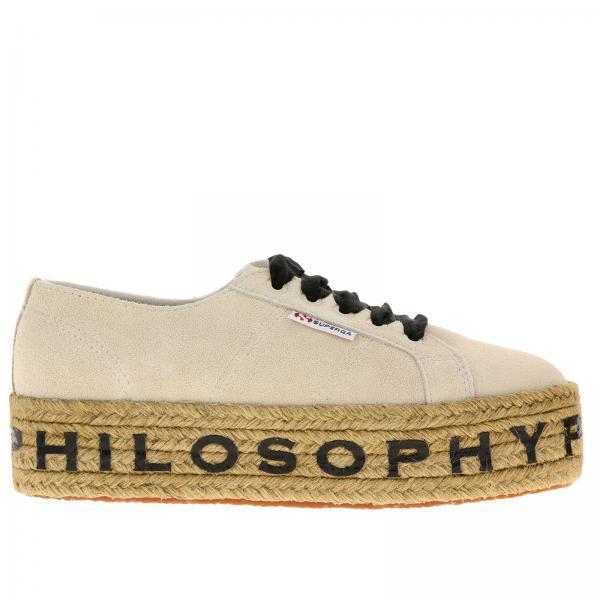772giglio Philosophy Primavera Di Mujer Zapatillas Ivory Serafini Lorenzo verano 2019 32020 7T0qqw8x