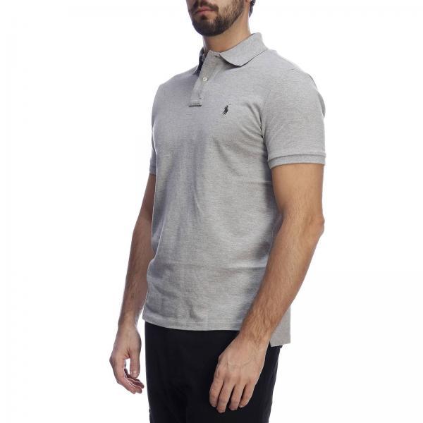 Ralph Polo Lauren verano Hombre Primavera Gris 2019 710680784giglio Camiseta w1x6BaqB