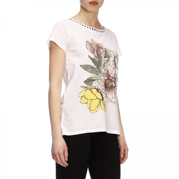 191mt2419giglio Twin Blanco Mujer Camiseta Primavera Set 2019 verano q4wBWT5IgT