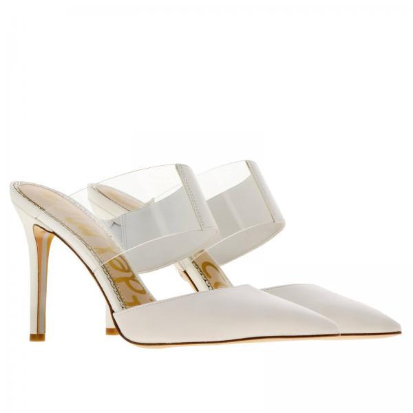 Zapatos Mujer Sam Tacón Primavera verano Edelman De 2019 Blanco Seshopeg2309m1100giglio rqf4wrC