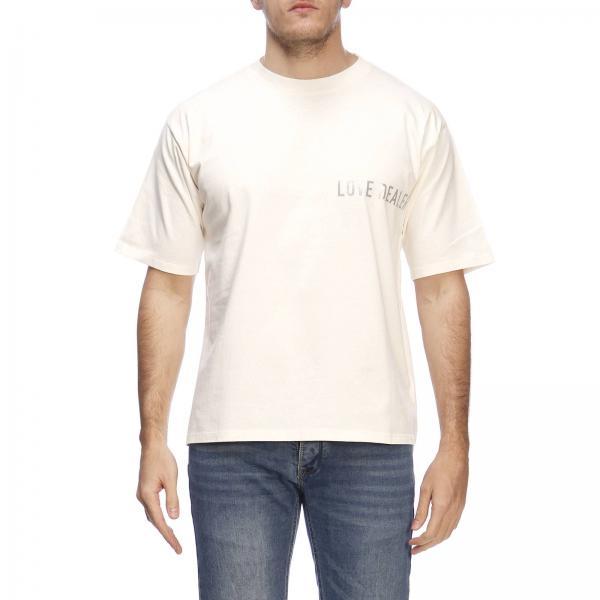 T Golden By Goose Maniche A Con Stampa Corte shirt c1FlKJ