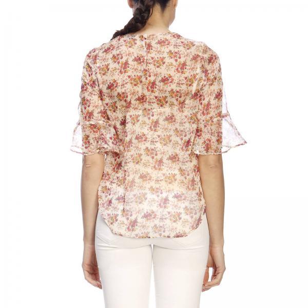 2019 Primavera Mujer 191tp2572giglio verano Set Twin Camisa PSq04a