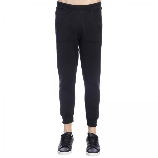 Stretch In Con Tessuto Maxi Stampa Pantalone Jogging Stile Dsquared2 Posteriore cA4RjLq35