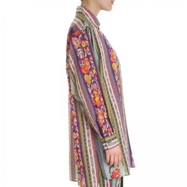 Camisa Fantasía 14958 Mujer Etro Primavera 4323giglio verano 2019 xwwnqr