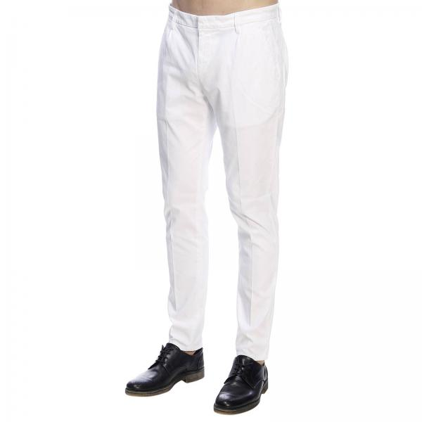 Pantalón Blanco Hombre verano 2019 Primavera Up517 Dondup Cs0080 Gaubertgiglio qa0qWTrvx