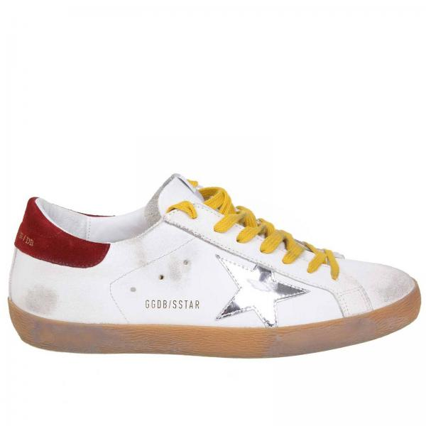 In Con Laminata Pelle Superstar Effetto Stella Sneakers Used 5RL34Aj