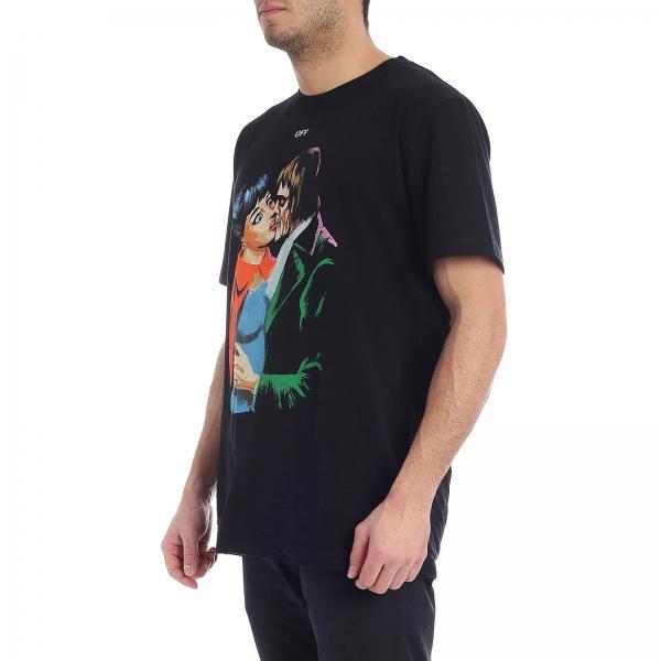 Negro Omaa027r1918 Off verano Camiseta 5003giglio Primavera 2019 Hombre White CnOqngtpF