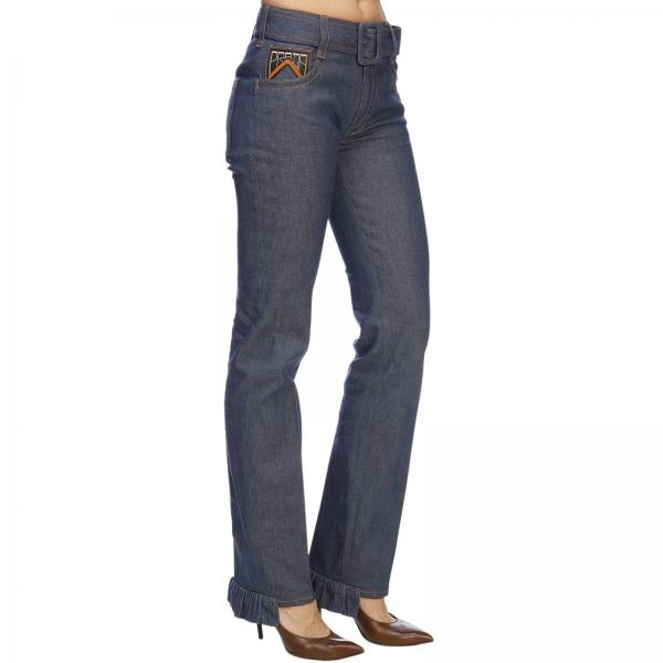 Gfp412 Primavera Prada Jeans 2019 1ljfgiglio Mujer Blue verano wftW4q6ZO
