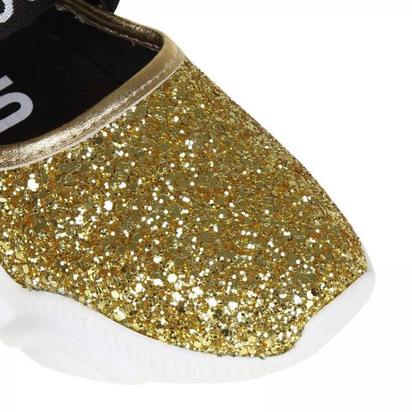 Zapatillas 2019 Couture Mujer Gold Mj0giglio Ma15103g07 Moschino Primavera verano r7Twr