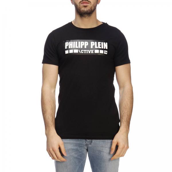 Negro 2019 Mtk3044 verano Philipp Primavera Sport Plein Hombre Pjy002ngiglio Camiseta vBwFt