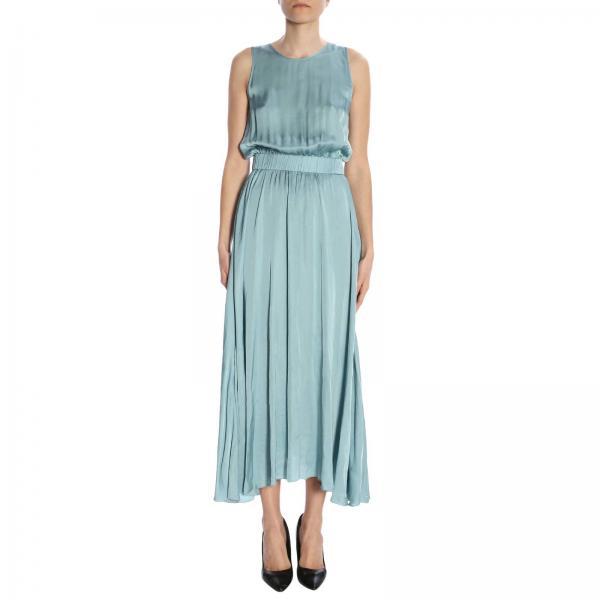 verano Mujer Primavera Verde Forte Vestido 2019 6046giglio wgUv7Sxq