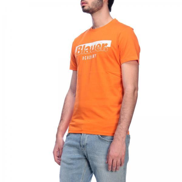 Primavera verano 19sbluh02154 Camiseta Blauer 004547giglio 2019 Hombre 76wIaxIp