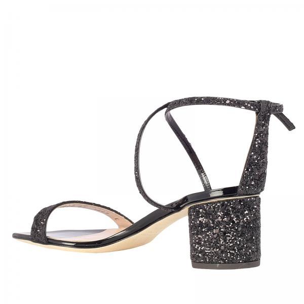 verano De Giuseppe Primavera 2019 Tacón Design Sandalias Zanotti E900079giglio Mujer Negro O7n1Rxawqx