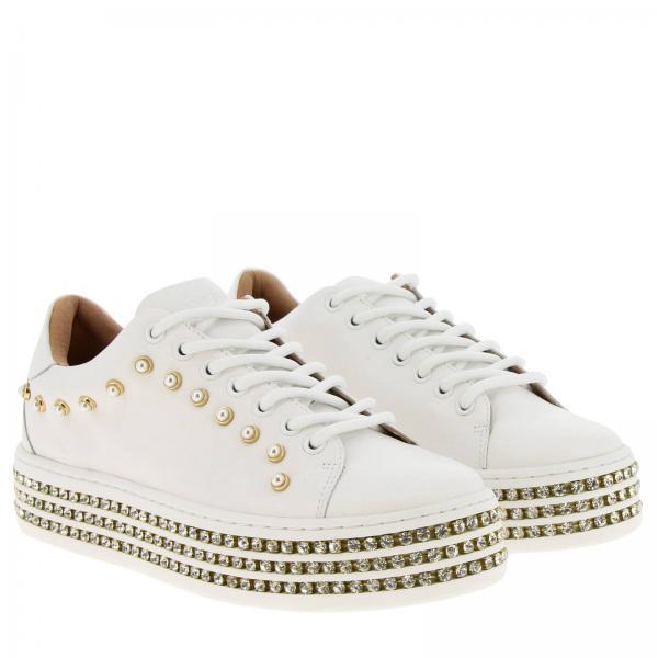 Zapatillas Blanco 191tcp166giglio verano Primavera Twin 2019 Mujer Set rrSaZ7