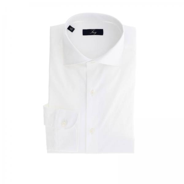 Camicia Fay Con Classic Collo Francese 8n0NZwOkPX