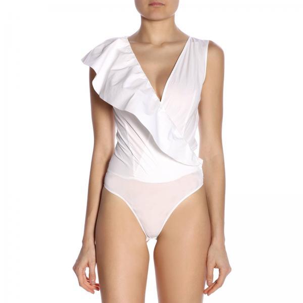 2019 7499giglio Blanco 3u10hc Mujer Pinko verano Primavera Body gTPRCW