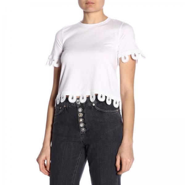2019 Js0212p Primavera Dondup verano M81giglio Mujer Camiseta qBY8Sw