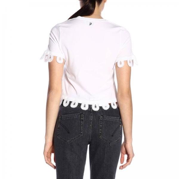Mujer Primavera Camiseta Dondup verano M81giglio 2019 Js0212p pO8d8H