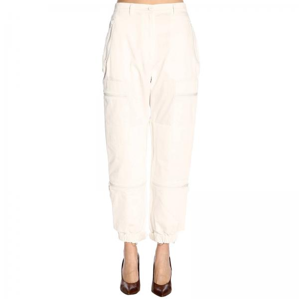 Primavera S51ka0438s49214giglio Margiela 2019 Blanco Pantalón Mujer Maison verano UaxnIXO