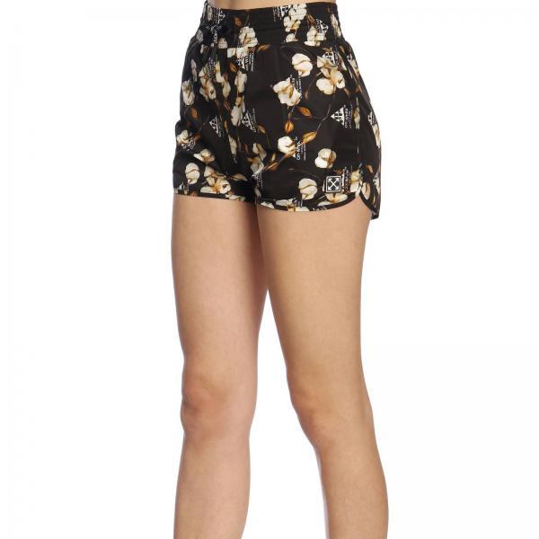 Negro Mujer White verano Primavera Pantalones Off Cortos 5057giglio 2019 Owcb020r19b7 wBqI56UR