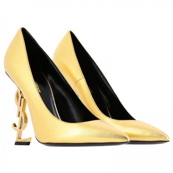2019 Salón Zapatos verano De 472011 Primavera 0xqjjgiglio Mujer Saint Laurent Gold HgT1qw