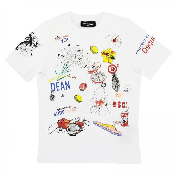 T-Shirt Dsquared2 Junior DQ03EX D00MQ