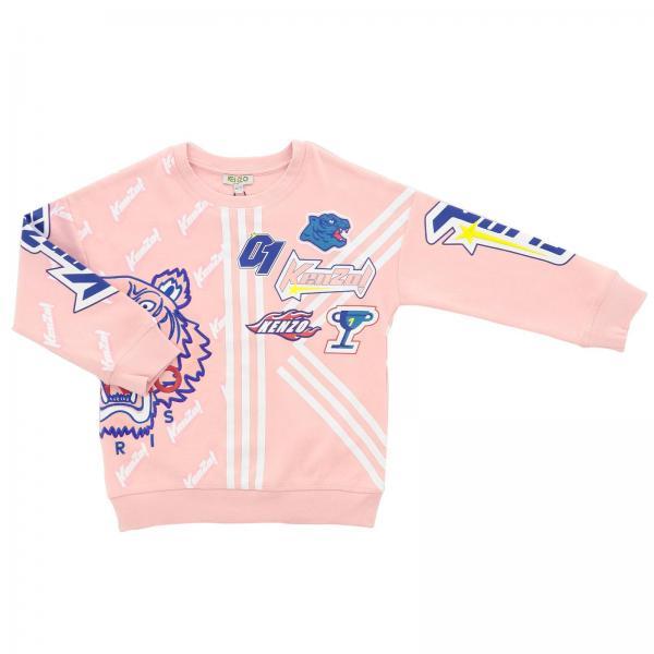 9f0cf6e5d Jumper little girl Kenzo Junior Pink | Jumper Kids Kenzo Junior ...