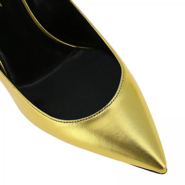 Salón Mujer 484160 Saint 0xqjjgiglio verano Zapatos De Laurent Gold 2019 Primavera w1TqF
