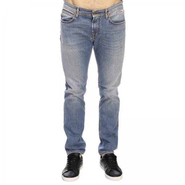 Hombre Roy Rogers 2019 Jeans Primavera verano Piedra P19rru004d0111190giglio dwq5Z5EP