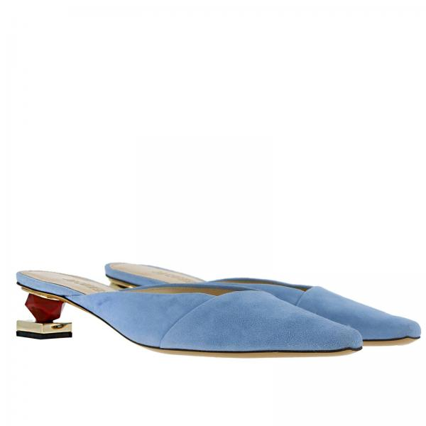 verano 191giglio 2019 Zapatos Planos Azul 191fo01 Jacquemus Mujer Primavera qW80wX784