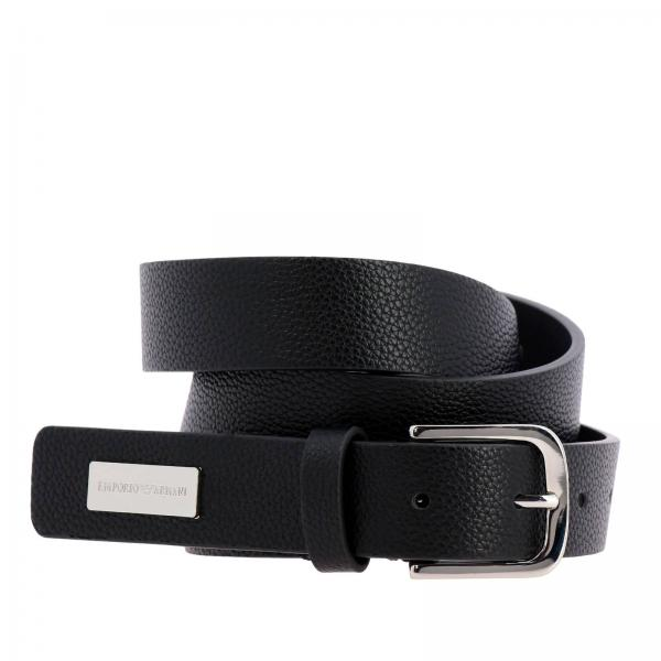 b75a5247c205 Emporio Armani Women s Black Belt