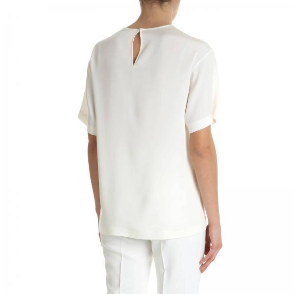 Mujer Primavera Blanco 0223 verano 4225giglio Camisa Ferretti 2019 Alberta YdvYqg