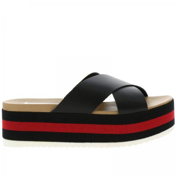 Ashergiglio Zapatos Madden Cuña Negro Primavera De verano 2019 Mujer Steve rgqAwprY