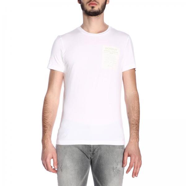 Camiseta verano Js01258 2019 Q98giglio Dondup Primavera Us221 Hombre U6qR8wrU