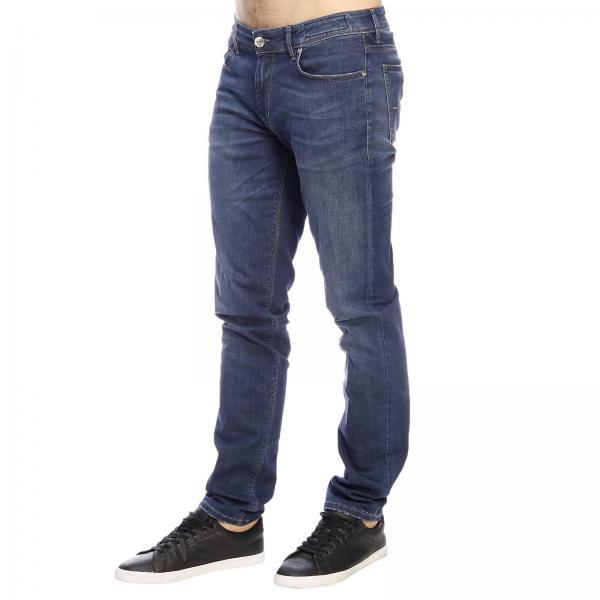 Con Tasche Effetto Re 5 Stretch Vita hash Bassa Used Jeans A 543RqjAL