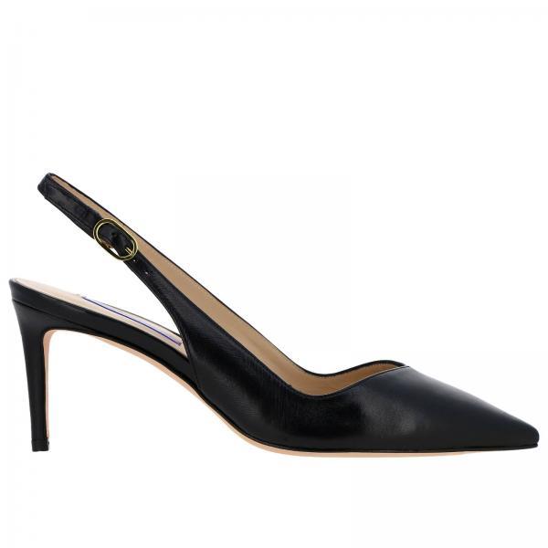 Mujer Weitzman Stuart verano Zapatos 70giglio De Edith Salón 2019 Negro Primavera qI7fSfEw