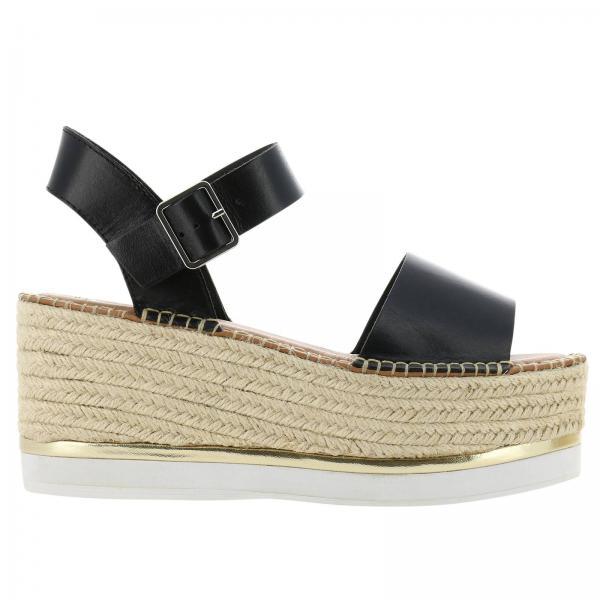 Negro Primavera Mujer verano 2019 Steve De Clousuregiglio Zapatos Madden Cuña qpXU01
