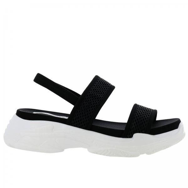 Sublimegiglio Primavera 2019 Madden Zapatos Cuña verano Mujer De Steve Negro nwU1YOF
