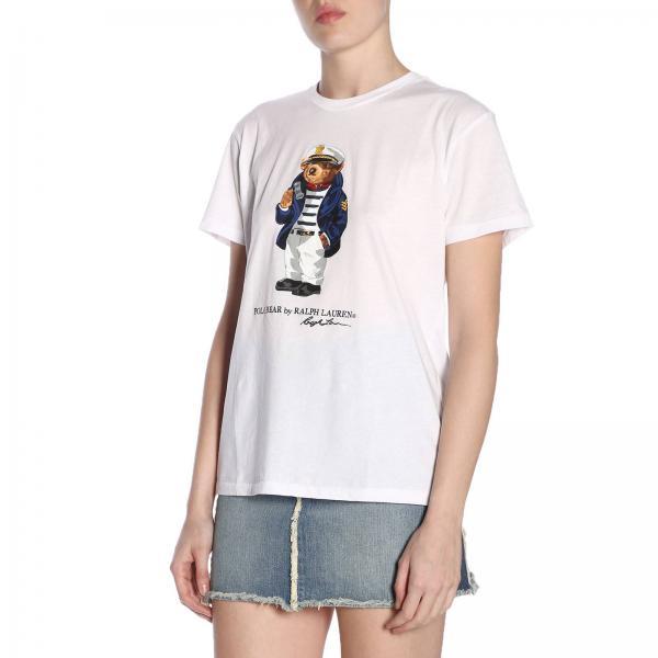 Blanco Polo Camiseta Ralph verano Primavera Lauren Mujer 2019 211744521giglio xgq6nFq