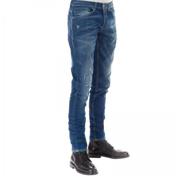 Dondup Up232 verano Blue 2019 Primavera Ds226giglio Jeans Hombre 5qS6wTvW