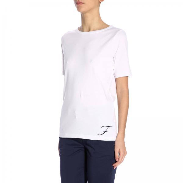 Mujer Primavera verano Camiseta Npwb2386290 Blanco Fay 2019 Pkugiglio ZzBSqdB