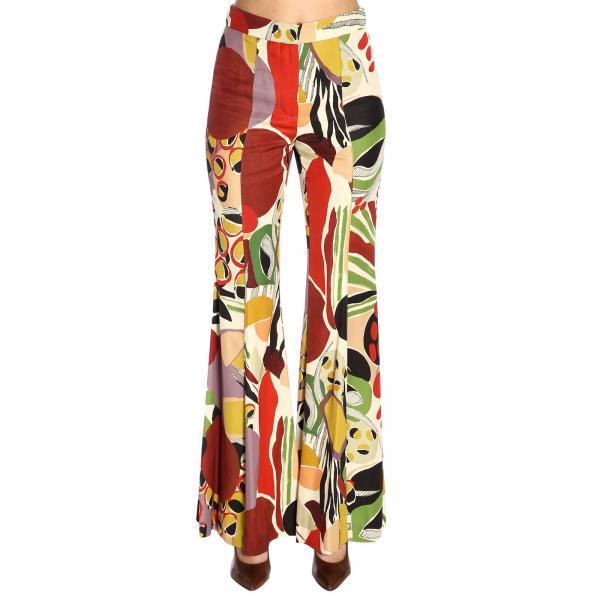 Fantasía Jh7387 Pantalón 50125giglio verano Primavera Mujer 2019 Maliparmi q8wwzTE
