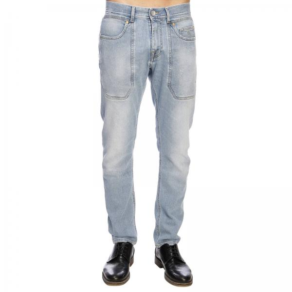 Tasche Stretch Con Toppe Pa104 5 Jeckerson Used A Maxi Jeans TFKJl3uc51