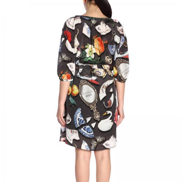 Moschino verano 2019 Vestido Gris Mujer 854giglio Boutique Primavera 0419 77wqEW4xr