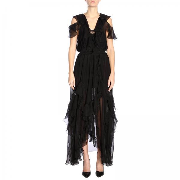 Mujer Faith verano Primavera Negro Vestido W1610t00n80giglio 2019 Connexion Bzwgdq