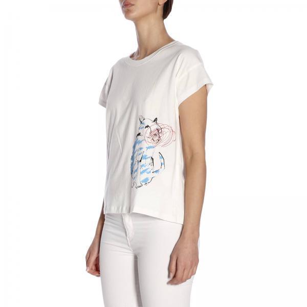verano Yoshi Lei Camiseta Kondo Mujer Cotonegiglio Blanco 2019 Primavera x0g5qSv5w