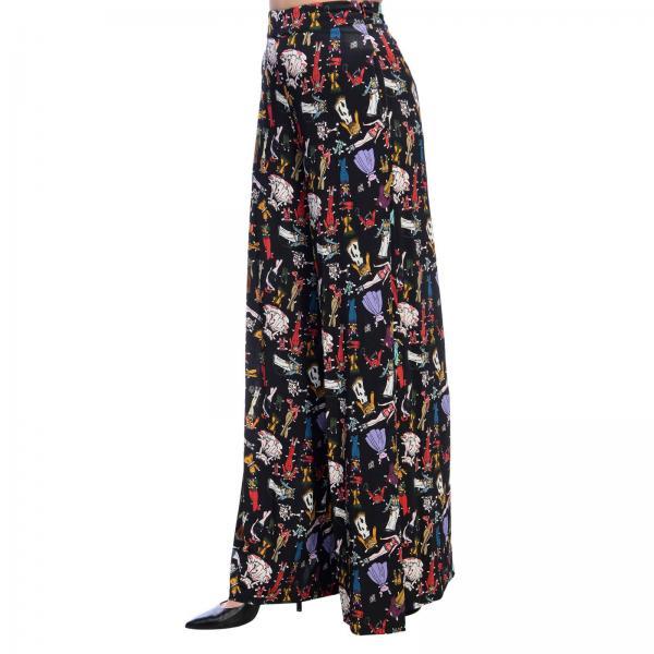 Pantalón Negro Mujer Primavera verano V329giglio 2019 Vb49 Ultrachic f4rzwf