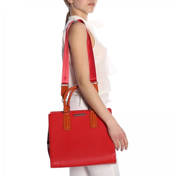 Rojo De verano Maliparmi Bolso 90326giglio Mujer Bh0209 Primavera Mano 2019 qgpwS4I