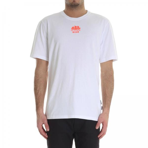 T-shirt Msgm X Sundek MM200S195219